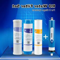 Replacement Filter Set for Standard 4 Stage RO/DI Aquarium W
