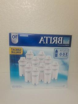 Brita Replacement Pitcher Water Filters 766229 10 Pack Brand