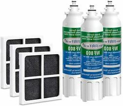 Replacement Water Filter for LG ADQ73613401 and Air filter 4