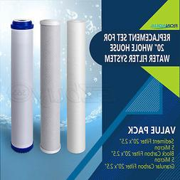 """20"""" x 2.5"""" Replacement Water Filters Cartridges Sediment CTO"""