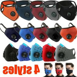 Reusable Face Mask with Air Breathing Port Valves & ONE FREE