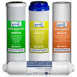 iSpring Reverse Osmosis Replacement Filter set of 4  #F4