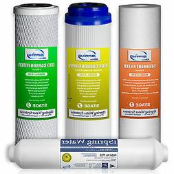 iSpring Reverse Osmosis 1-year Replacement Filter set of 4