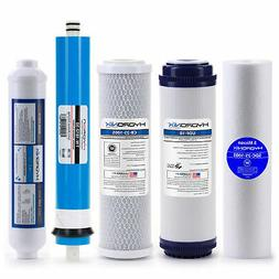 Reverse Osmosis Replacement Filter Set RO Cartridges 5 pcs w