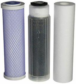 RO/DI replacement filter kit with Color Changing DI Resin -