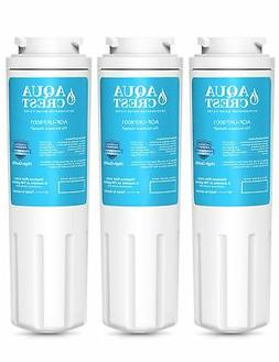 AQUACREST UKF8001 Refrigerator Water Filter, Compatible with