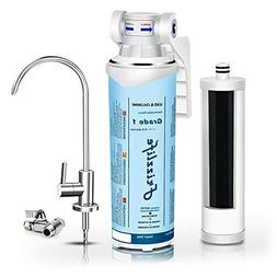 Frizzlife Under Sink Water Filter-Quick Change Under Counter