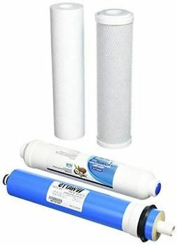 Universal 4-Stage Under Sink Reverse Osmosis Replacement Fil
