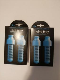 Water Bobble 2-Pack Replaceable Water Filter, Blue Quantity: