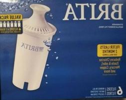 Brita water filter 6 pack