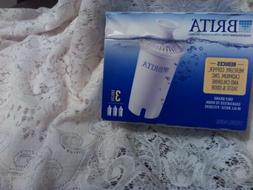 Brita Water Filter Pitcher Advanced Replacement Filters 3/Pa