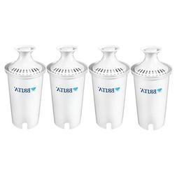 Brita Water Filter Pitcher Replacement Filters, 4 ea