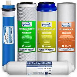 iSpring Water Filter Replacement Cartridge Filter Set of 5 -