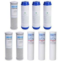 Replacement Water Filter Set RO Cartridges for 5 Stage Rever
