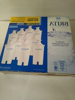 Brita Water Filters Pitcher Replacement 10 Pack New In Box I