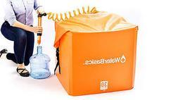 WaterBasics Emergency Water storage Kit with Filter, 30gal