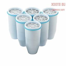 Zero Water Replacement Filters BPA-Free Replacement Water Fi